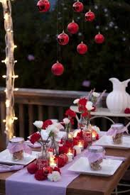 Christmas Table Decorations Outside 30 Outdoor Christmas Decorations. Add  fun and festive flair to the front of your home with these unexpected  Christmas ...