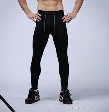 Pants Logos 2019 Mens Compression Pants Sports Running Tights Basketball Gym