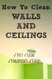 clean walls before paintingA lot of living happens between the walls of our homes and