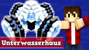 Wie Baut Man Ein Unterwasserhaus In Minecraft Minecraft