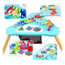 tinkers wooden activity table  mom  milly