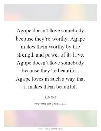 Agape Love Quotes