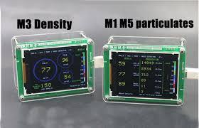 English M5 particulates <b>PM2</b>.5 PM1.0 PM10 <b>detector</b> air monitoring ...