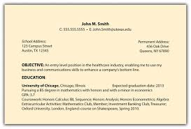 Objectives To Put On A Resume Great Objectives To Put On A Resume