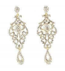 large pageant austrian crystal rhinestone chandelier dangle earrings prom e2090 cr12088t623
