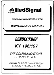 ky 196 197 vhf comm installation maintenance manual ky 196 197 ky 196 197 vhf comm installation maintenance manual