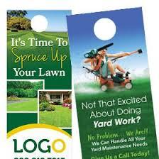 Lawn Care Brochure Lawn Care Print Designs Free Shipping Footbridge Marketing