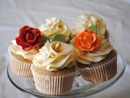 Flowers And Wedding Cupcakes Leanne Bakes