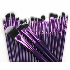 20pcs makeup brushes set powder face foundation eyeshadow eyeliner lip brush
