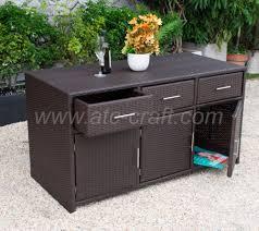 Hot Seller Poly Rattan Outdoor Kitchen Cabinet Raca 001 Buy