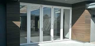 bifold glass doors install exterior doors creative home decoration image of cool exterior doors exterior accordion doors bifold patio doors cost