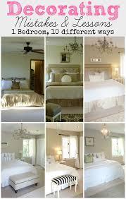 One Bedroom Decorating Livelovediy Decorating Mistakes Lessons 1 Bedroom 10 Ways