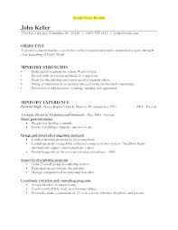 Ministry Resume Template Youth Minister Resume Top Rated Pastoral