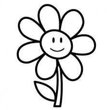 Small Picture Coloring Pages Draw Easy Flowers Easy Flower Drawings For Simple