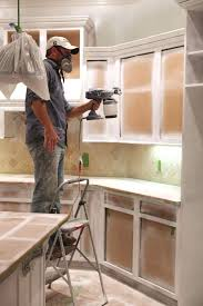 spray paint kitchen cabinets kitchen cabinets with airless sprayer kitchen cabinets cost to