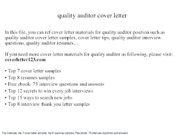 Senior Auditor Resume Senior Auditor Cover Letter Senior Auditor