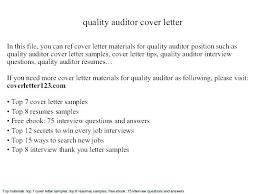 Senior Auditor Resume Senior Auditor Cover Letter Senior Auditor