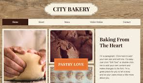 Cafe Bakery Website Templates Restaurants Food Wix Com