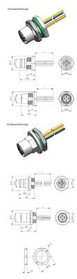 provertha connectors cables solutions gmbh profinet m12 versions wireclip at the wire end for easy pcb handling and wave er process upon request