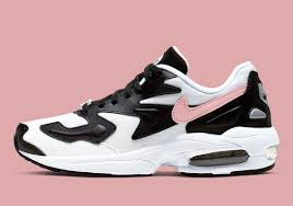 Light Pink Nike Shoes Nike Air Max 2 Light White Black Pink Ao3195 101 Release