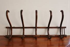 Vintage Coat Racks Wall Mounted Amazing Antique Large Wall Mounted Bentwood Coat Rack Entries Pinterest