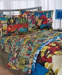 Marvel Bedding, Whamm Comforter Sets - Bed in a Bag - Bed & Bath -