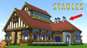 Minecraft Building Designs Step By Step Minecraft How To Build A Large Survival House Tutorial