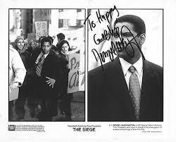 -autographed-signed-signature- Washington Original Photo Store Amazon's At 8x10 Entertainment Denzel Collectibles