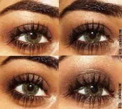 easy brown eye color makeup tutorial