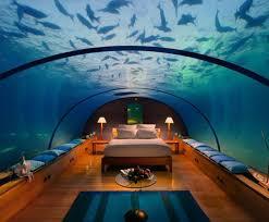 Awesome Bedroom Idea Inspiration Underwater Aquarium Design