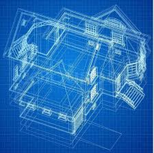 Architecture Design Blueprint Architecture Design Blueprint Blue