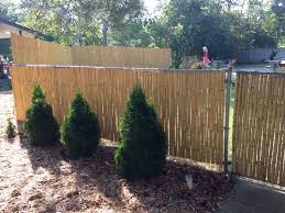 chain link fence bamboo slats. Tons Of Compliments, Great Instant Privacy! Chain Link Fence Bamboo Slats E