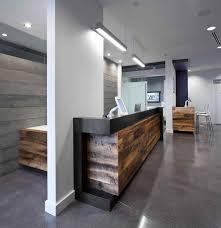 Desk Modern Salon Reception Designs For Elegant Household