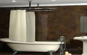clawfoot bathtub shower curtain decoration roll top bath in small bathroom bathtub shower curtain rod clawfoot