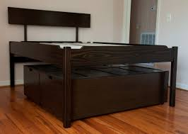 high platform bed build a tall platform bed frame online