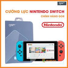 Cường lực Nintendo Switch chính hãng Gor full màn hình trong suốt 1 chiếc