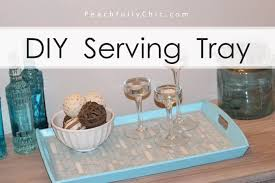 How To Make a Tile Serving Tray: