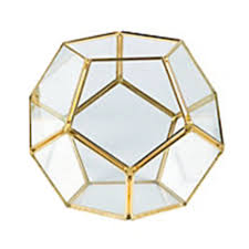 home diy terrarium gold geometric terrarium 01
