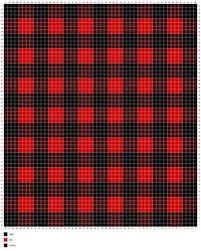 Ravelry Buffalo Plaid Graphghan Chart Pattern By Jessica Bowman