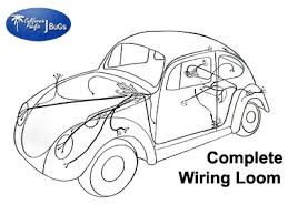 vw complete wiring kit, beetle 1968 1969 vw parts jbugs com Complete Wiring Diagram Beetle Compleat Wiring Diagram Beetle #23