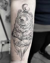 Bear Tattoo Meaning And Symbolism The Wild Tattoo Tattoo
