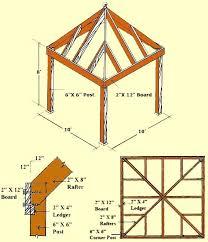 DIY Gazebo Plans, Designs & Blueprints - Planning and Building a Wooden  Gazebo