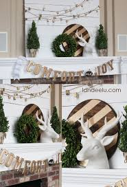 diy christmas mantel and decor ideas landeelu com