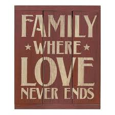 Word Signs Wall Decor Family Love Wood Panel Word Sign wall decor familywordart 55