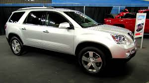 gmc acadia 2012 interior. Fine Gmc 2012 GMC Acadia SLT AWD Exterior And Interior At Montreal Recreational  Vehicles Show  YouTube And Gmc C