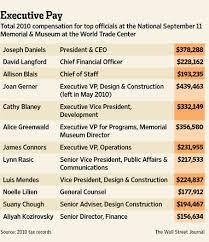 Bloomberg Defends 9 11 Memorial Salaries Metropolis Wsj