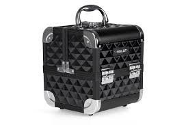 makeup case black diamond mini