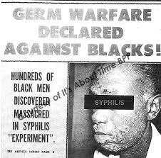 tuskegee syphilis study experiment black men alabama