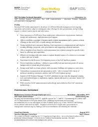 Content Administrator Sample Resume Fashion Sales Manager Sap Basis