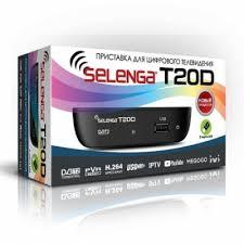 <b>Цифровой телевизионный ресивер</b> DVB-T2 <b>SELENGA</b> T20D